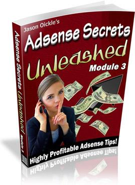 Adsense Secrets Unleashed 3